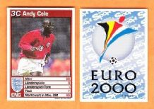 England Andy Cole Manchester United